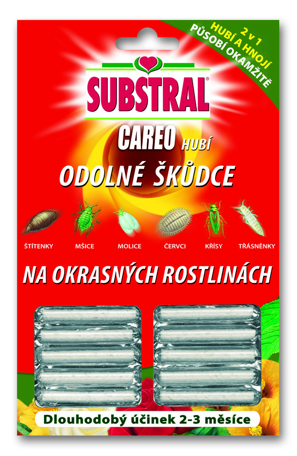 Substral CAREO tyčinky 10ks 1804102 | substral-shop.cz