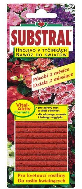 Substral tyčinky pro kvetoucí rostliny 1715101